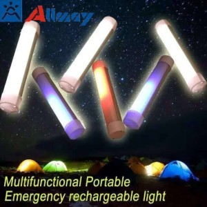 USB Chargeable Portable LED Camping Tube Light