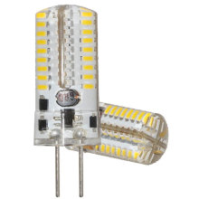 Dimmable G4 3014 72LED Silicon LED Auto Bulb