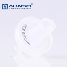 Consumibles de laboratorio polipropileno 0,22um PES filtro de membrana con impresión