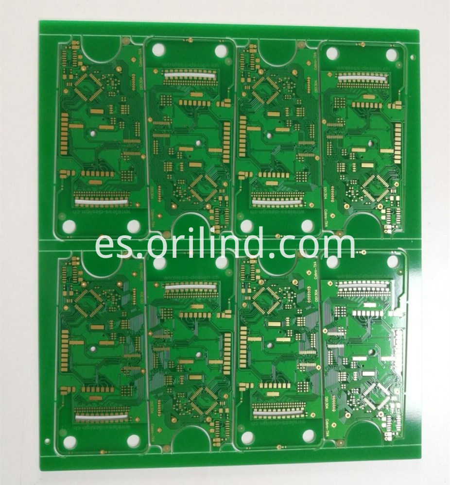 ENIG finished circuit board