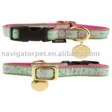 Dog Collar: Ribbon-on-nylon