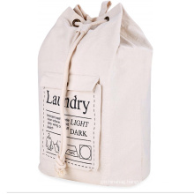 strong large hotel home cotton laundry bag heavy duty canvas drawstring laundry bags with logo