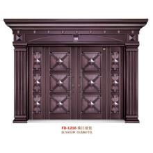China Steel Door Supplier Entrance Door Metal Door Iron Door (FD-1216)