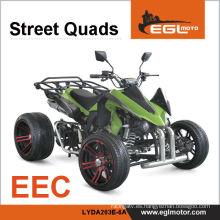 Motocicleta Quad 250cc que compite con certificación CEE