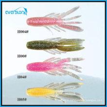 7.5cm / 7.3G leurre de pêche souple tout type de couleur