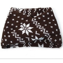 Moda hecha punto jacquard bebé bufanda