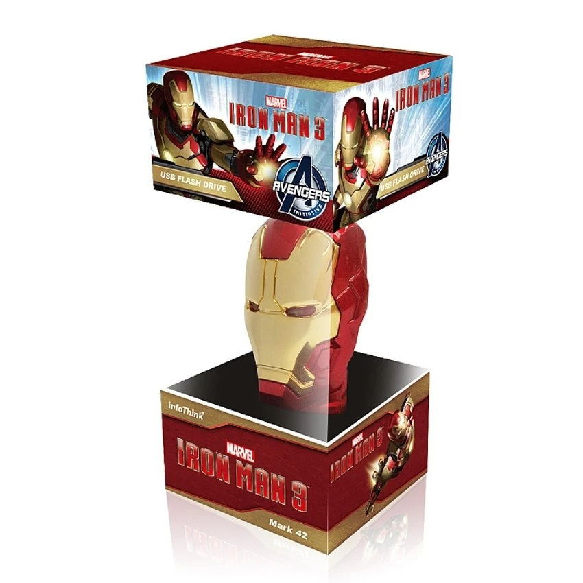 Cool Ironman Mask USB