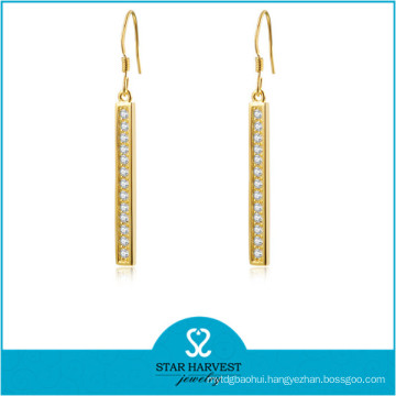 925 Sterling Silver Wholesale Zircon Fashion Jewelry (J-0228E)