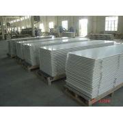 Acid Alkali Resistant Glacier White Acrylic Solid Surface Sheet For Bathroom Countertops