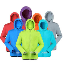 Outdoor Men Women's Jacket Fast Drying Anti-UV Waterproof Breathable Skin Jacket