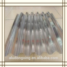 3003 H24 corrugated aluminium sheet for the roof and curtain wall
