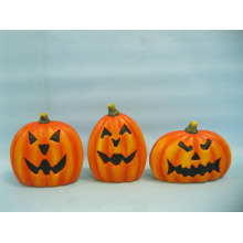 Arts et artisanat en céramique de citrouille de Halloween (LOE2375-14)