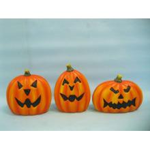 Abóbora de Halloween cerâmica artes e ofícios (LOE2375-14)