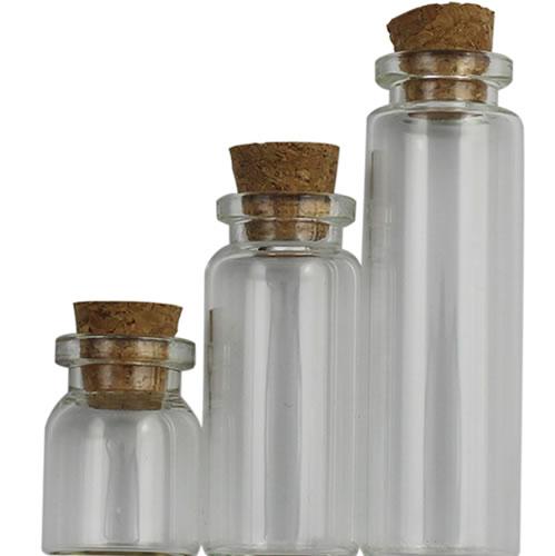 Cork beverage bottle