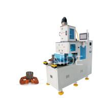 Alambre de cobre automático de la bobina del estator que hace la máquina