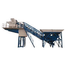 HZSY25 pequeña planta dosificadora de concreto móvil en venta
