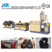 PP PE PVC Single Wall Corrugated Corrugation Pipe Extrusion Line