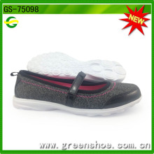 New Arrival latest Design Ladies Shoes From China GS-75098