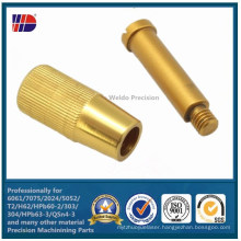 CNC Machining Brass Turned Parts Manufacturer China (WKC-325)