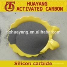 Pó de carboneto de silício preto / verde com preço competitivo