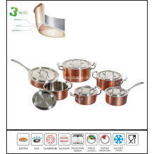 3 Layers Cookware Set/Turkish Cookware/Prestige Cookware Set
