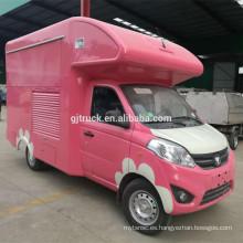 camión famoso del alimento del camión del helado del foton del mejor precio de China en venta