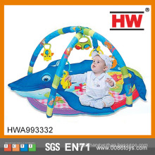 Funny Whale Shaped Cotton Kid Play Mat