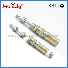 2013 Telescope V V Mod, Rebuildable Mod/Mechanical Mod 18350/18650 Electronic Cigarette with Protank Atomizer