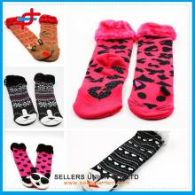 Дети Модные животных Довольно носки тапочка меха