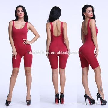 Latest Design Sex Quality Custom Black Cutout Jumpsuit