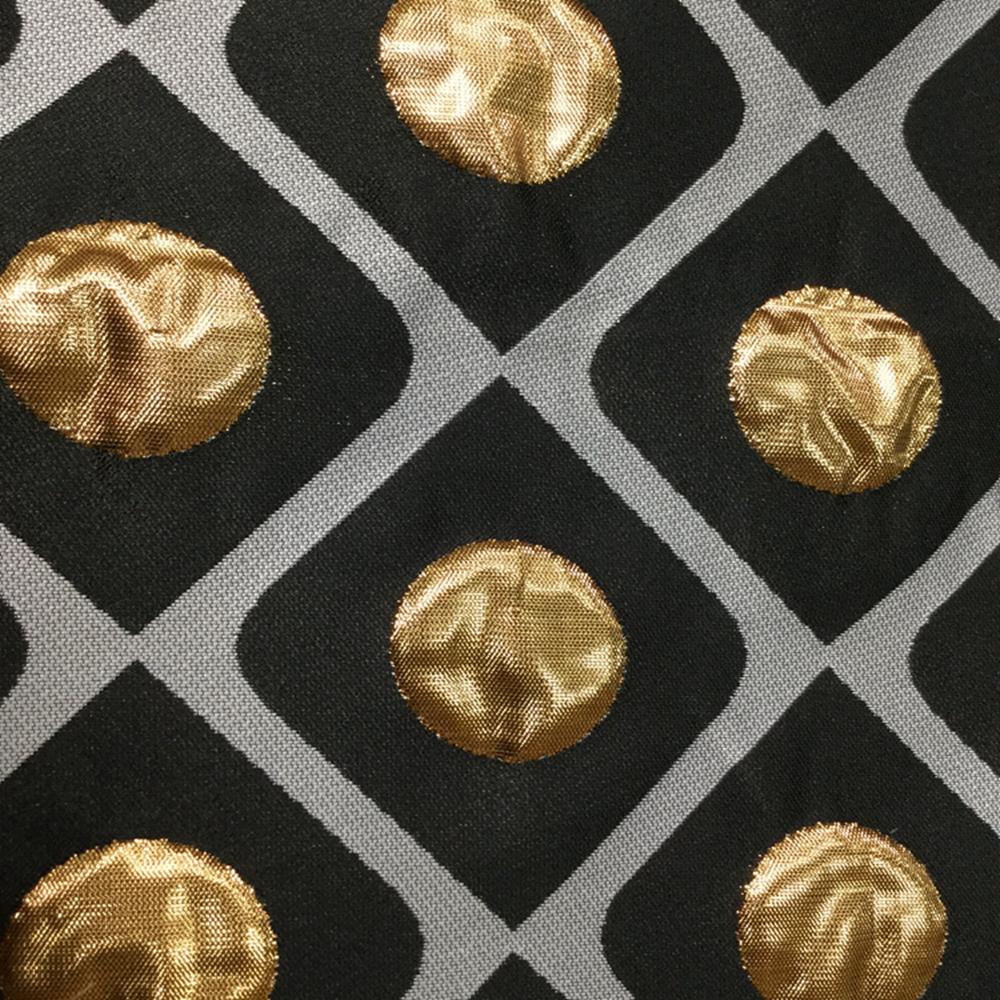 Gold Jacquard Fabric
