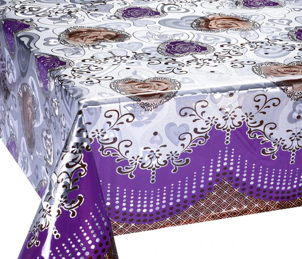 Mettalic gold silver tablecloth 3
