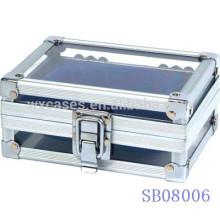cajas de reloj de aluminio por mayor de China fabricante 2 relojes