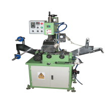 Zipper hot foil stamping machine