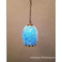 Contemporary Glass Pendant Lamp Made in Guangdong