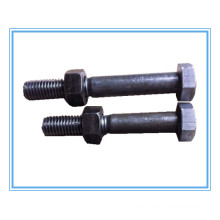 DIN609 Black Hex Fit Bolts with Hex Nuts