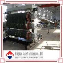 PVC-Blatt-Verdrängungs-Produktions-Maschinen-Linie mit Ce (SJSZ)