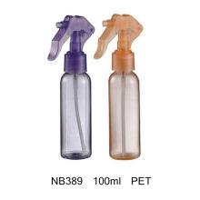 Bouteille de pulvérisation cosmétique de déclencheur cosmétique du plastique 500ml de PE de soin (NB389)