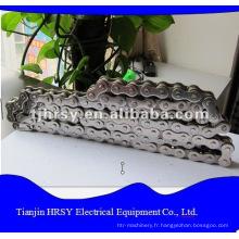 Chaîne à rouleaux en acier inoxydable 06B-32B