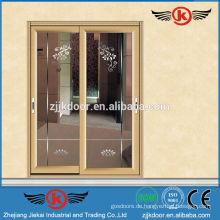 JK-AW9125 Innen-Glas doppelte Eingangstüren / kommerzielle Glas Eingangstür