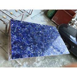 Translucent or No Translucent blue sodalite plate