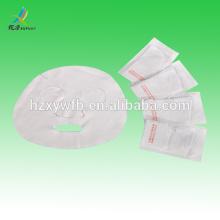 Máscara facial de papel o tela cosmética DIY