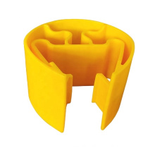 Plastic Safety Yellow Building Column Guards  To Suit Pallet Racking Uprights/