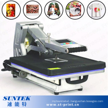 New Arrival Flatbed Hydraulic Sublimation Heat Transfer Machine