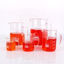 100ml 250ml 500ml Laboratory Borosilicate Glass Beaker with Handle