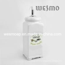 Contenedor de aceite de botella de vinagre de porcelana (WKC0337A)
