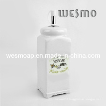 Porcelain Vinegar Bottle Oil Container (WKC0337A)