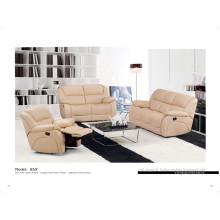 Sofá de cuero genuino de la sala de estar (850)