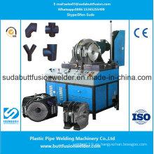 * La tubería de HDPE ajusta la máquina de soldadura de las colocaciones del taller de 90m m / 315m m