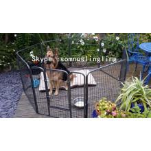 Canil grande do cão do animal de estimação do gato do animal de estimação do metal da gaiola do cão